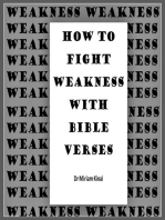 How to Fight Weakness and Powerlessness with Bible Verses