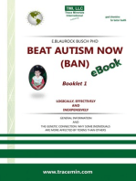 BEAT AUTISM NOW (BAN) - Booklet 1 – Logically, effectively and inexpensively