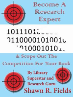 Become A Research Expert & Scope Out The Competition For Your Book