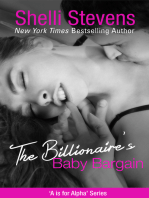The Billionaire's Baby Bargain