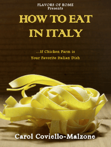How to Eat in Italy