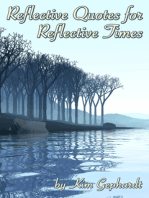 Reflective Quotes for Reflective Times