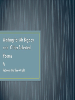 Waiting for Mr Bigboy and Other Selected Poems