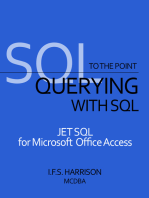 Querying with SQL JET SQL for Microsoft Office Access