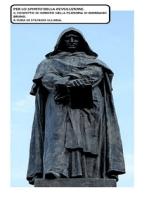 """Per lo """"Spirito"""" della """"revoluzione"""". Il concetto di infinito nella filosofia di Giordano Bruno."""