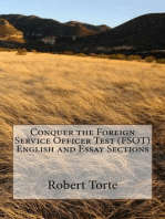 Conquer the Foreign Service Officer Test (FSOT) English and Essay Sections