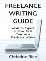 Freelance Writing Guide