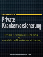 Private Krankenversicherung vs. gesetzliche Krankenversicherung