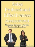 Sales Professional Effectiveness Assessment