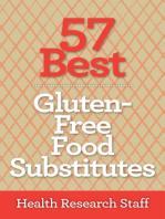 57 Best Gluten Free Food Substitutes