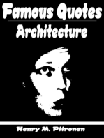 Famous Quotes on Architecture