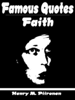 Famous Quotes on Faith