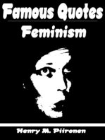 Famous Quotes on Feminism