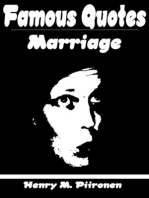 Famous Quotes on Marriage