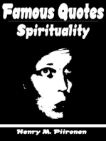 Famous Quotes on Spirituality