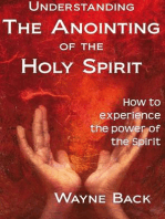 Understanding the anointing of the Holy Spirit