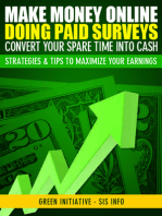 Make Money Online Doing Paid Surveys