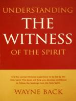 Understanding the Witness of the Spirit