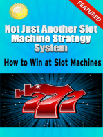 Not Just Another Slot Machine Strategy System