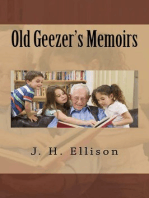Old Geezer's Memoirs