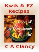 Kwik & EZ Recipes