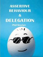 Assertive Behaviour & Delegation