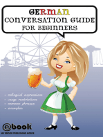 German Conversation Guide for Beginners