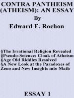 Contra Pantheism (Atheism)
