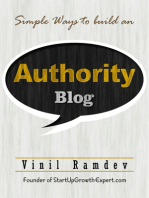 Simple Ways To Build An Authority Blog