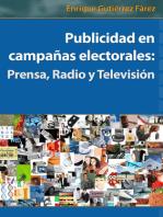 Publicidad en campañas electorales: Prensa, Radio y Televisión