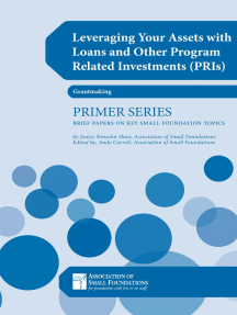 Leveraging Your Assets with Loans and Other Program Related Investments