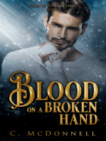 Blood on a Broken Hand