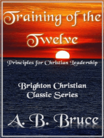 "Training of the Twelve ""Principles for Christian Leadership"""