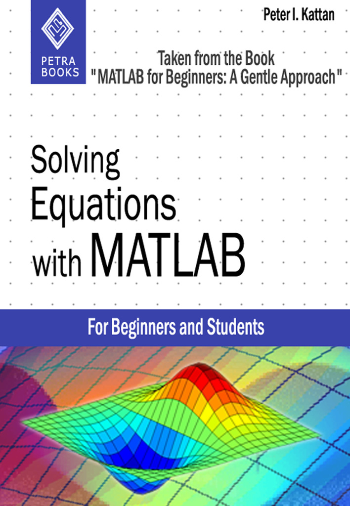 how to solve simultaneous eq in matlab