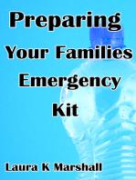 Preparing Your Families Emergency Kit