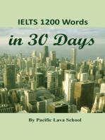 IELTS 1200 Words in 30 Days