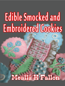 Edible Smocked and Embroidered Cookies
