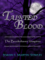 Tainted Blood (The Brookehaven Vampires, Book 3)
