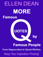 More Famous Quotes by Famous People from Hippocrates to Oprah Winfrey