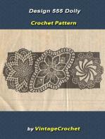 Design 555 Doilies Vintage Crochet Pattern eBook