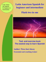 Latin American Spanish for Beginner and Intermediate, Flash Two In One