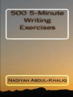 500 5-Minute Writing Excercises