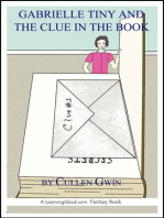 Gabrielle Tiny and the Clue in the Book