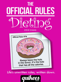 The Official Rules: Dieting