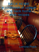BACK HOME a collection of unique and back home style recipes