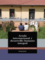 Ayuda internacional y desarrollo humano integral