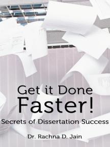 The Secret to Writing Your Dissertation | ScienceBlogs