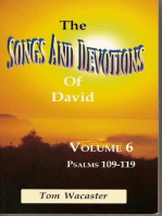 Songs and Devotions of David, Volume VI