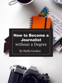 How to Become a Journalist Without a Degree