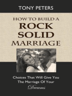 How to Build a Rock Solid Marriage